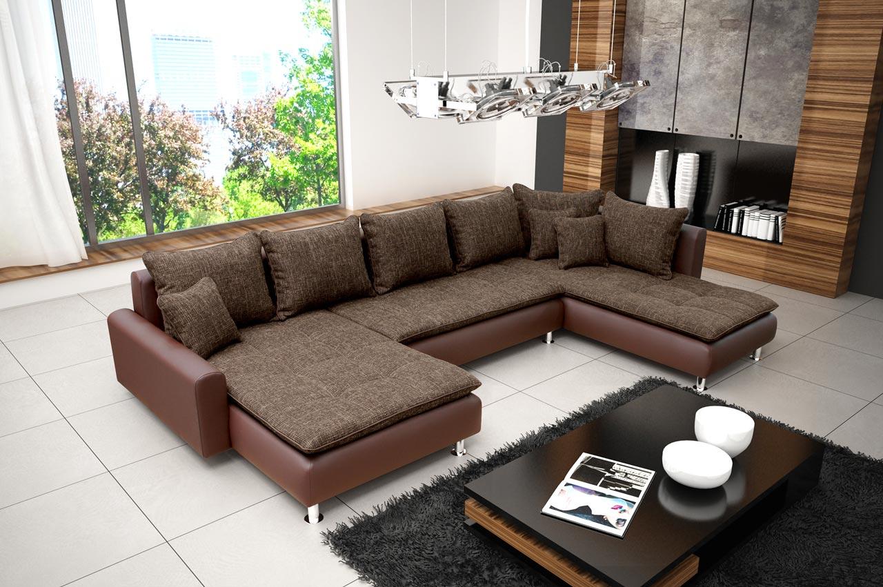 Ecksofa Tiago Elegante Eckcouch Sofagarnitur Sofa Sofagarnituren Vom Hersteller Ebay